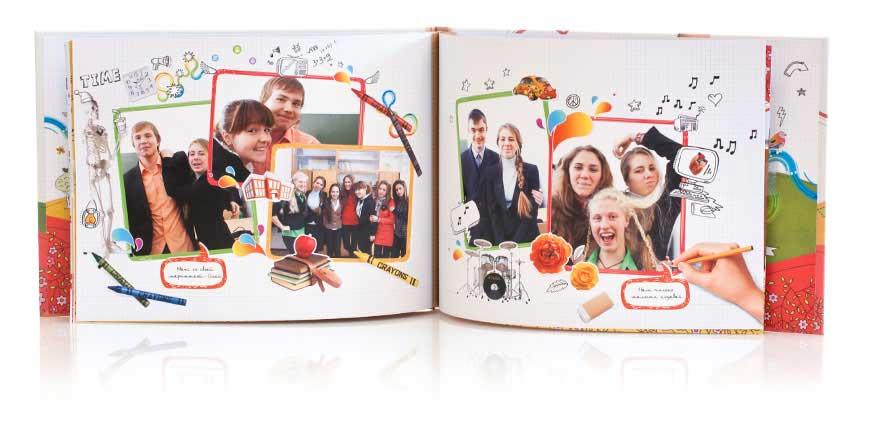 Выпускная фотокнига своими руками