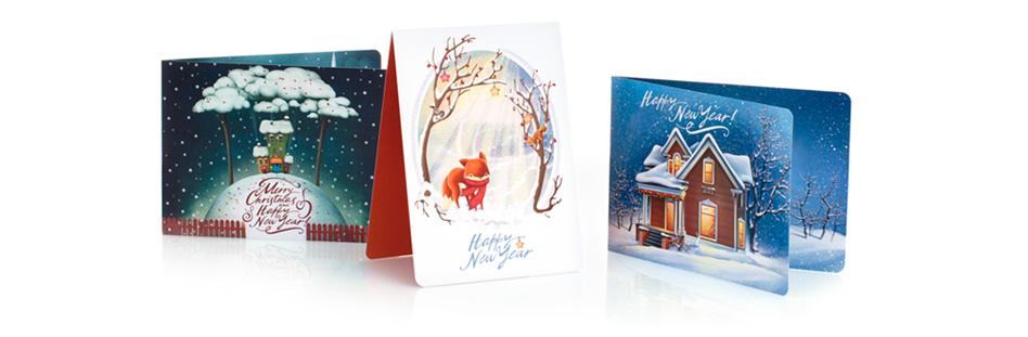 Новогодняя открытка новогодние открытки от принт а тет купить