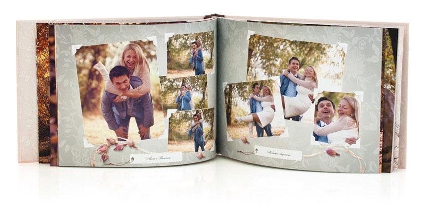 Свадебные фотоальбомы и свадебная фотокнига в лучшем качестве. Фотокнига от Принт-а-Тет